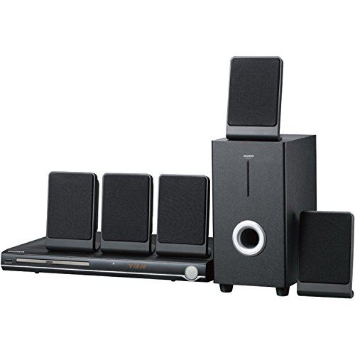Sylvania SDVD5088 5.1 Channel DVD Mini Bookshelf Home Theater Speaker System (Cerified Refurbished) by Sylvania