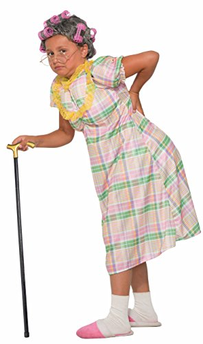 Forum Novelties Child's Aunt Gertie Costume Girl (Old Person Halloween Costume)