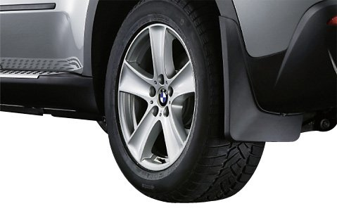 BMW Genuine Mud Flaps Guards Set Rear (82 16 0 414 674)