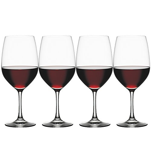 Spiegelau 4510277 Vino Grande Bordeaux Wine Glasses (Set of 4), ()