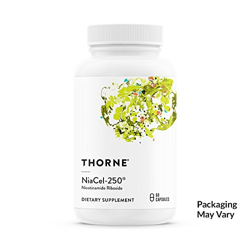Thorne Research - NiaCel-250 - Nicotinamide Riboside Supplement with ChromaDexs Niagen - 60 Capsules