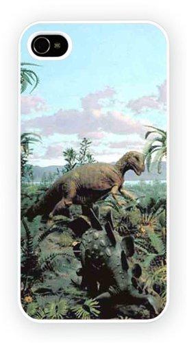Dinosaurs Jurrasic Art Design, iPhone 5 5S, Etui de téléphone mobile - encre brillant impression
