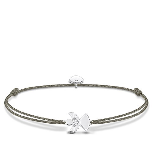 Thomas Sabo Damen-Armband Little Secret Engel 925 Sterling Silber LS037-401-5-L20v