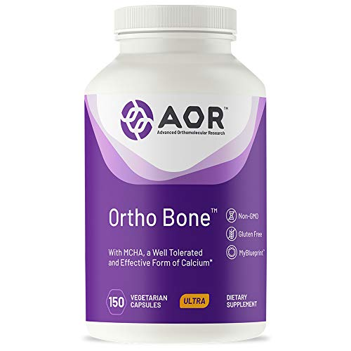 AOR, Ortho Bone, Supports Healthy Bone Mineral Density and Growth, Dietary Supplement, 15 Servings (150 Capsules)