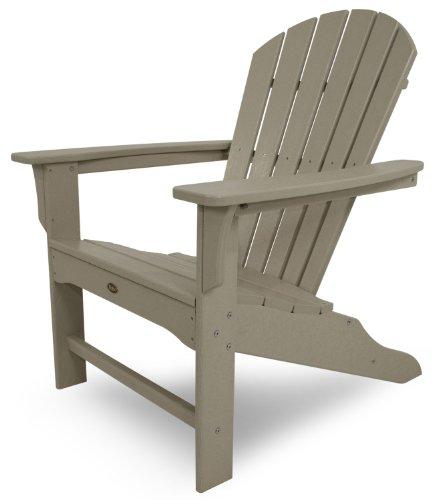 Trex Outdoor Furniture Cape Cod Adirondack Chair, Sand Castle ()
