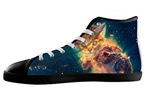 Mens Katter Galaxen Canvas Kängor Skor Katter Galaxen Canvas Shoes04