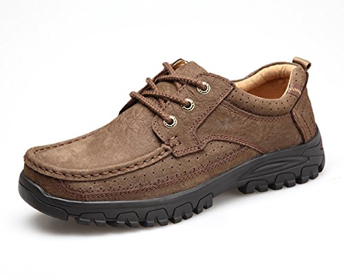 Men Shoes-Sport Casual Walking Tail Shoes for Your Formal Outdoor Activies-Breathable Lace up,Comfort by HUMGFENG