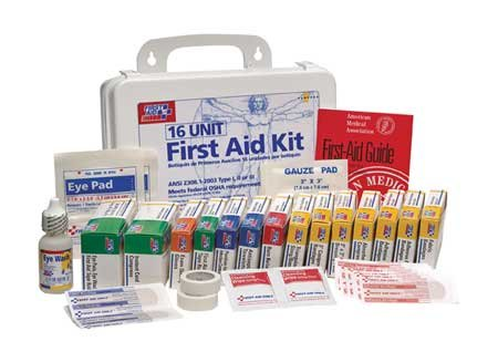 (First Aid Kit Refill, Unitized, 16 Pcs)