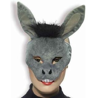 Amazon forum novelties animal costume set donkey nose tail plush donkey mask child std solutioingenieria Choice Image
