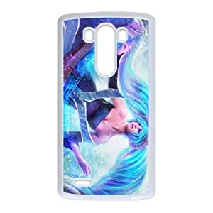 LG G3 phone case White Sona league of legends SDF4521520