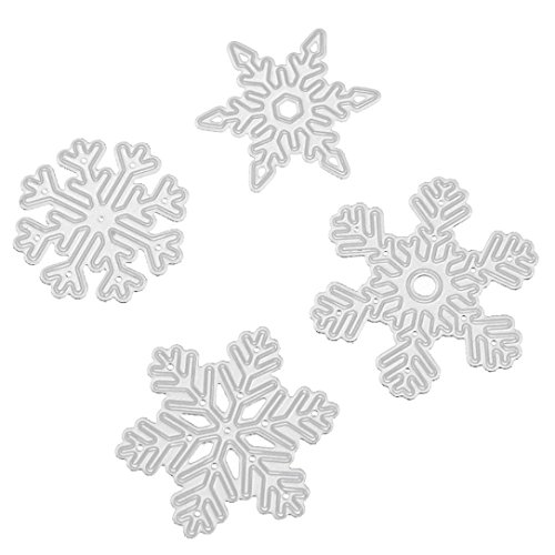 KANZER 2017 Christmas Cutting Dies Metal Scrapbooking DIY Crafts Card Making Stencils (C)