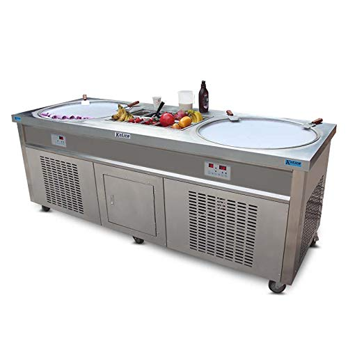 Free Shipment to Door CE ROHS 50cm Double Round Pans+10 precooling Tanks...