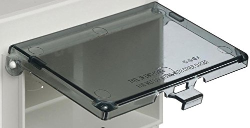 Arlington - DBHC Low Profile InBox Replacement Covers Horizontal Clear (Cover only) (3r Type Cover Enclosure)
