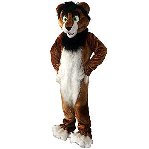 Fox Dog Wolf Husky Cartoon Mascot Costume Adult
