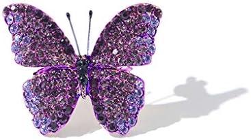 蝶の小さなブローチインスタイルハイエンドブローチ人格気質のブローチアクセサリーセーターアクセサリーレトロピン (Color :