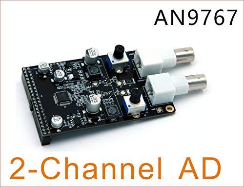 ALINX 14bits Two-Channel DA AD9767 Module Directly-pluggable into ALINX Serial FPGA Development Board AN9767