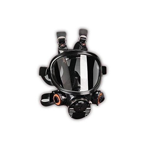 3M 00051138542573 Full Facepiece Respirators, 7800 Series, Reusable, Small, Black