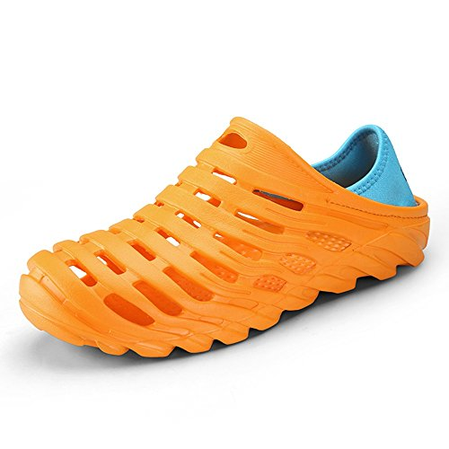 MAZHONG Zapatillas Zapatos de verano para hombres Zapatos Zapatillas Sandalias Pareja Sandalias antideslizantes ocasionales para jóvenes ( Color : Gris , Tamaño : EU39/UK6/CN39 ) Amarillo