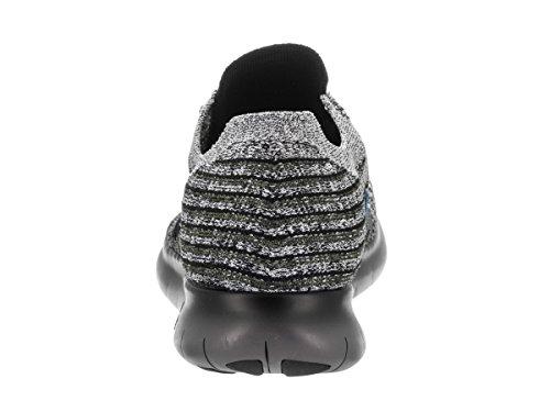 Glow Free Flyknit Rn Chaussures Cargo Nike Khaki Blue De Hommes Black Course wF6q6PB7