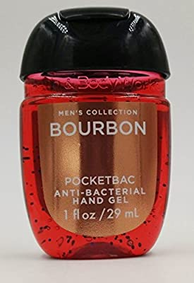 Bath & Body Works PocketBac Hand Sanitizer Gel Bourbon For Men