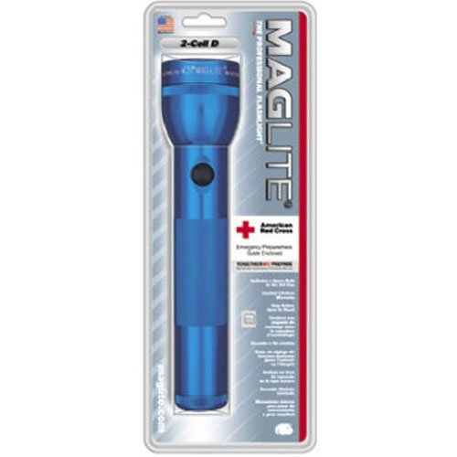 Maglite O-ring - Maglite Heavy-Duty Incandescent 2-Cell D Flashlight, Blue