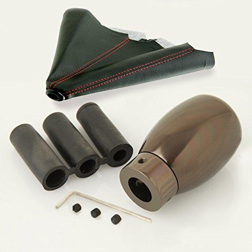 SN#100000000759-0763-220 For Mercedes-Benz Aluminum Manual Stick Shift Knob Combo