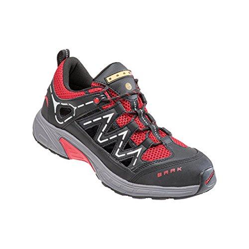 Baak Sapatos De Segurança Joe Esportes Exclusivo Esd S1p Facilmente Bgr191, Tamanho 44, Preto, 7533