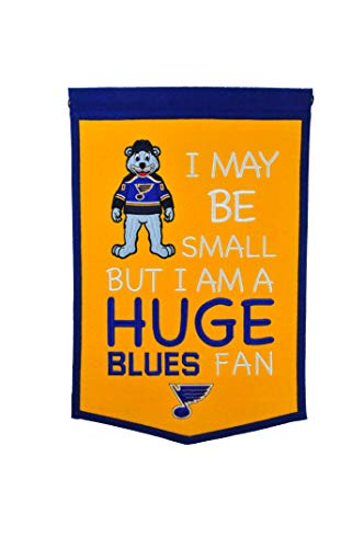 - Winning Streak NHL St. Louis Blues Lil Fan Traditions Banner