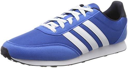 adidas F34450 V RACER 2.0 Mens Running Shoes, Blue (true ...