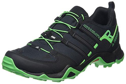 adidas Herren Terrex Swift R Trekking-& Wanderhalbschuhe, Schwarz, 11 uk Schwarz (Nero Negbas/negbas/verene)