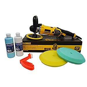 Detail King DeWalt DWP849X alt Buffer Buff 'N Glaze Value Package - Single-Sided