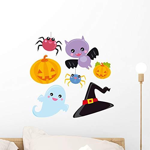 Wallmonkeys Halloween Wall Mural Peel and Stick Vinyl Graphic (18 in W x 18 in H) -