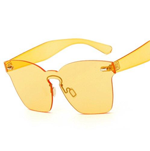 pour Lunettes Lunettes Couleur Jaune ZYXCC de Hommes Soleil pour Mode de Bonbon YANJING Lunettes Femmes de de Soleil Soleil Lunettes 8BwqvcAd