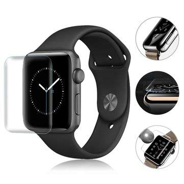 SumoTik 3D Curved Clear HD Hydrogel TPU Watch Screen Protector For Apple Watch Series 4 40mm/44mm - Apple Watch Accessories - (Series 4 44mm) - 1 Audio Charger Chargin