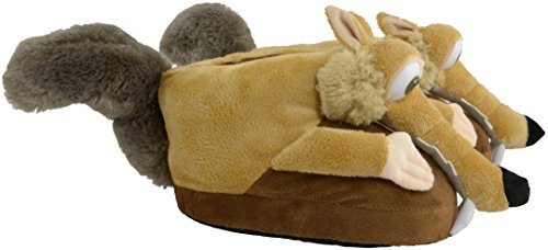 Ice Age Collision Course Slippers Scrat Size 35-37 ICAG Footwear