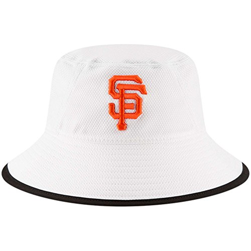- San Francisco Giants New Era Team Bucket Hat White