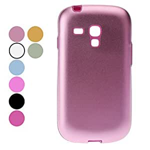 Solid Color Alloy Hard Case for Samsung Galaxy S3 mini I8190 (Assorted Colors) --- COLOR:Green