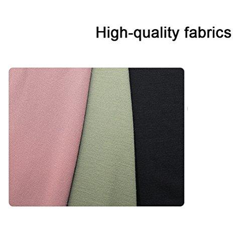 Color Elegantes mujer Split Cintura Mujeres Solido Moda Falda Con Coctel Pantalon Casual Volantes Falda Faldas Irregular Retro Largas Alta Rosa Elegante FwzqP4