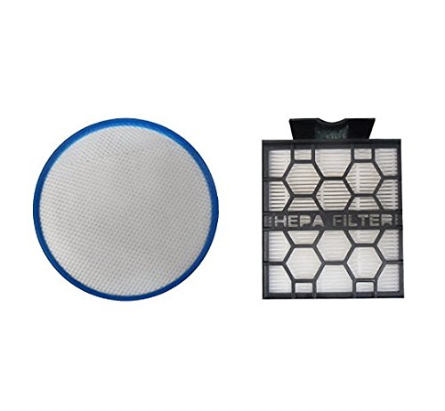 Polti PAEU0295-Kit of 2Filters Compatible with Unico Models, Black/Grey Colour