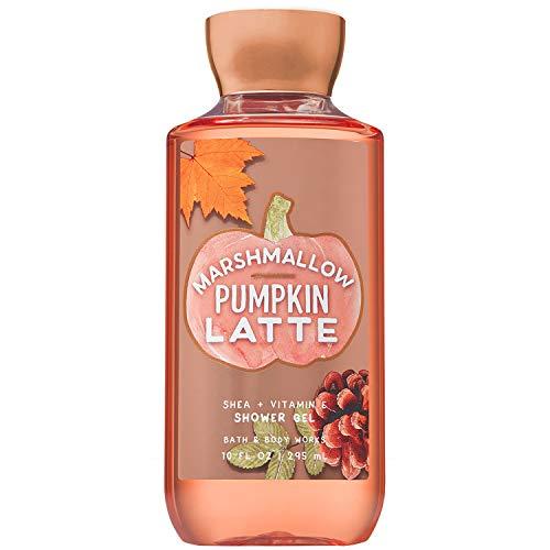 Bath and Body Works MARSHMALLOW PUMPKIN LATTE Shower Gel 10 Fluid Ounce (2018 Edition) ()