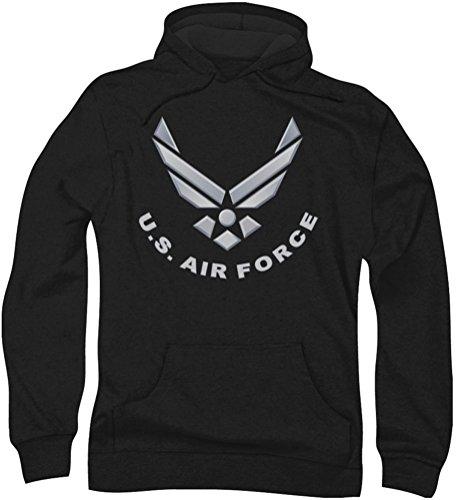 Force Hommes Black Logo Air Hoodie 0zwdnOqO