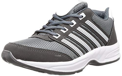 Lancer Men's Grey Hiking Shoes-7 UK (41 EU) (HYDRA-203DGR-WHT-7)