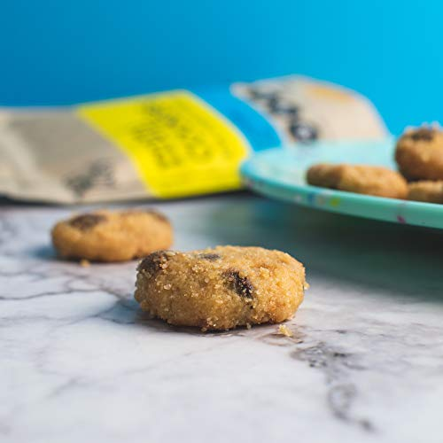 HighKey Snacks Keto Food Low Carb Snack Cookies, Chocolate Chip, 3 Pack - Gluten Free & No Sugar Added, Healthy Diabetic, Paleo, Atkins Dessert Sweets, Diet Foods, Natural Ingredient Products