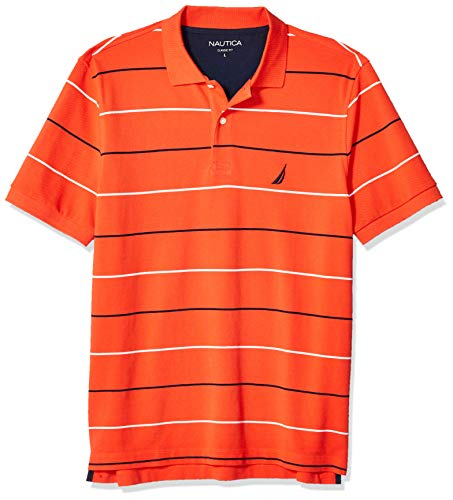 8d9d1b4697c Mens Medium Orange Nautica Polo, Nautica Orange Mens Medium Polo