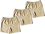 Monvecle Unisex Baby 3 Pack Newborn to Toddle Cotton Long Pants