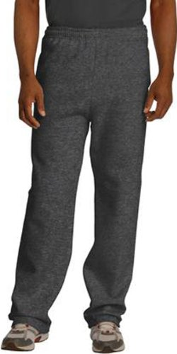 - Jerzees Adult NuBlend Open-Bottom Sweatpants with Pockets