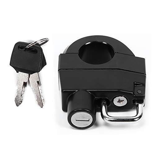 Helmslot voor Motorfiets Handvat,25mm/1in Motorfiets Stuur Helm Lock Anti-Diefstal Veiligheid Hangslot Universele…