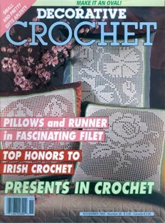 Decorative Crochet: November 1993, Number 36 -