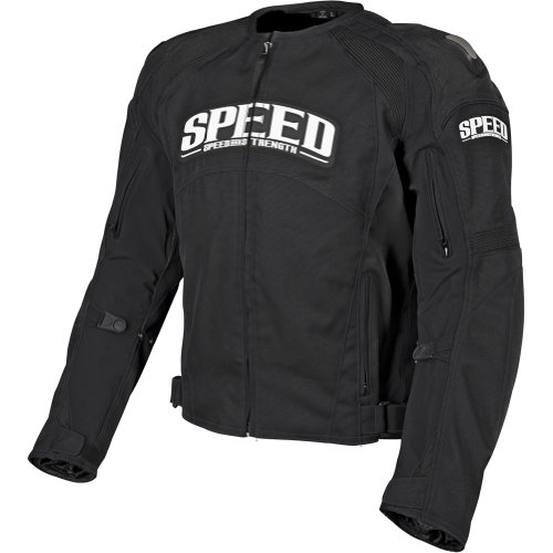 Speed and Strength Twist of Fate 3.0 Men's Textile Street Bike Racing Motorcycle Jacket - Black / - Bike Racing Jackets