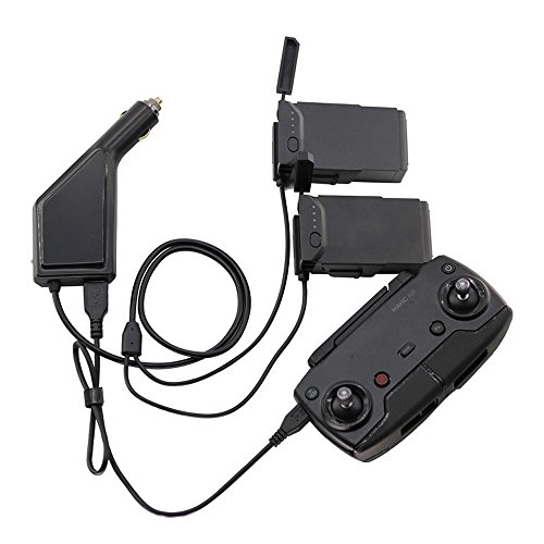 Ktyssp 3in1 Car Charger Adapter for DJI Mavic Air Remote Control & Battery Charging Hub Accessories Professional